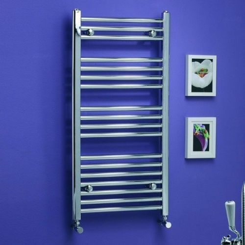 Kartell K-Rail Curved Towel Rail - 800mm High x 500mm Wide - Chrome